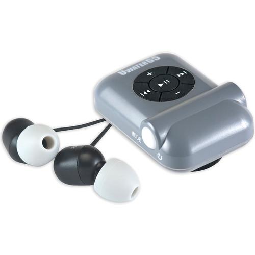 Fitness Technologies UWaterG5 4GB Action MP3 Player with FM Radio (Metallic Gray / Black)