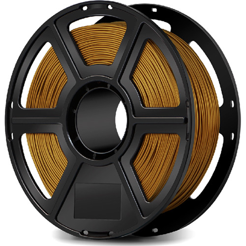 FlashForge 1.75mm ABS Filament for the Creator & Guider II Series (1kg, Gold)