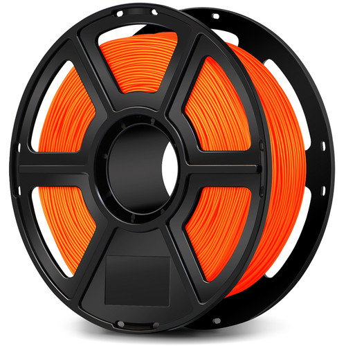 FlashForge 1.75mm ABS Filament for the Creator & Guider II Series (1kg, Orange)