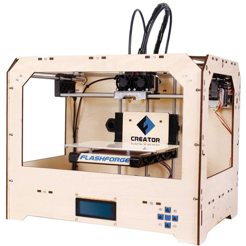 FlashForge Creator 3D Printer (Wood Case)