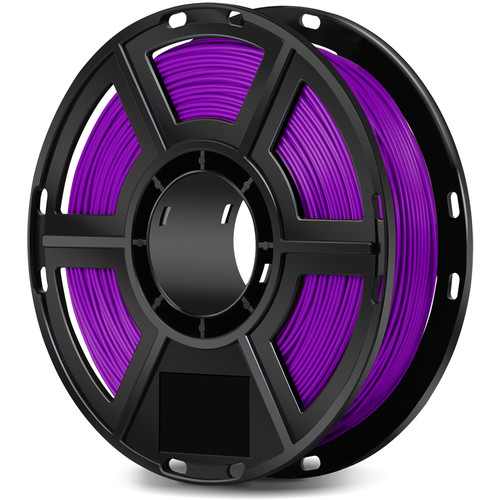 FlashForge 1.75mm ABS Filament for the Dreamer, Inventor, and Adventurer 3 (0.5kg, Purple)