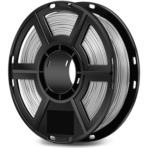 FlashForge 1.75mm ABS Filament for the Dreamer, Inventor, and Adventurer 3 (0.5kg, Silver)