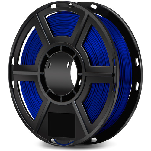 FlashForge 1.75mm Flexible Filament for the Dreamer, Inventor Series, and Finder (0.5kg, Blue)