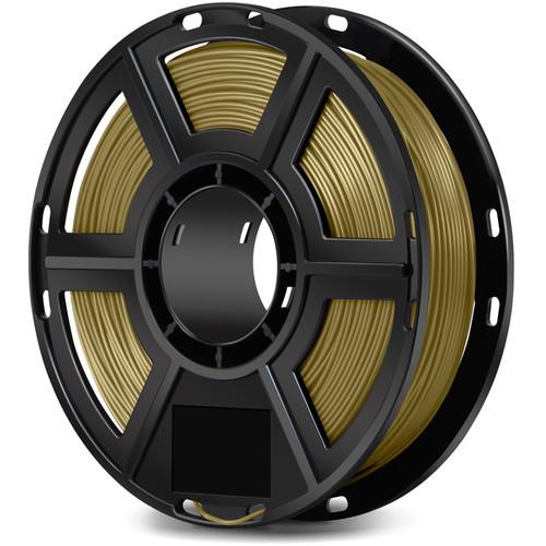 FlashForge 1.75mm Metal-Filled Filament for the Dreamer, Inventor Series, and Adventurer 3 (0.5kg, Bronze)