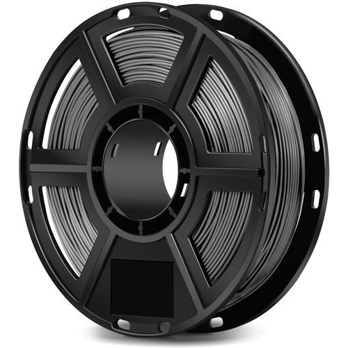 FlashForge 1.75mm PLA Filament for the Finder, Dreamer, Inventor Series, and Adventurer 3 (0.5kg, Gray)