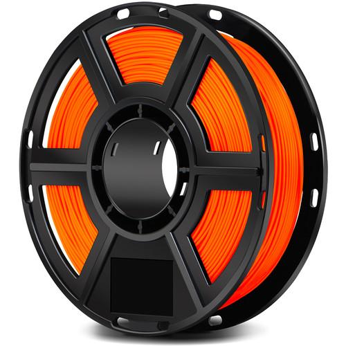 FlashForge 1.75mm PLA Filament for the Finder, Dreamer, Inventor Series, and Adventurer 3 (0.5kg, Orange)