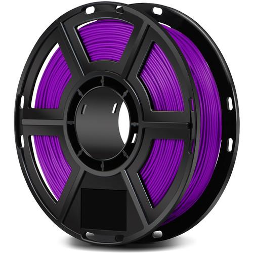 FlashForge 1.75mm PLA Filament for the Finder, Dreamer, Inventor Series, and Adventurer 3 (0.5kg, Purple)