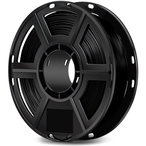 FlashForge 1.75mm Ultra-Strong Pearl PLA Filament for the Dreamer, Inventor Series, and Adventurer 3 (0.5kg, Black)
