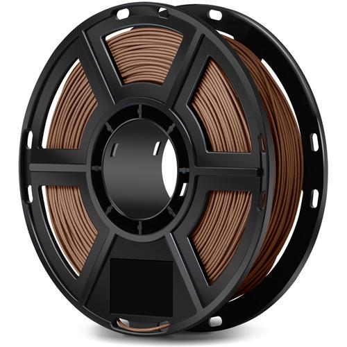 FlashForge 1.75mm Wood-Filled Filament for the Dreamer, Inventor Series, and Adventurer 3 (0.5kg, Dark Wood)