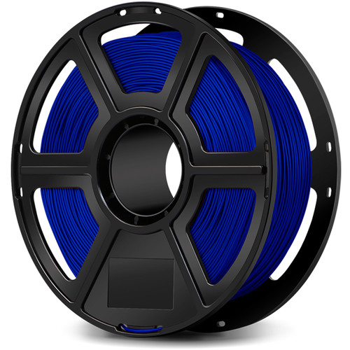 FlashForge 1.75mm Flexible Filament for the Creator & Guider II Series (1kg, Blue)