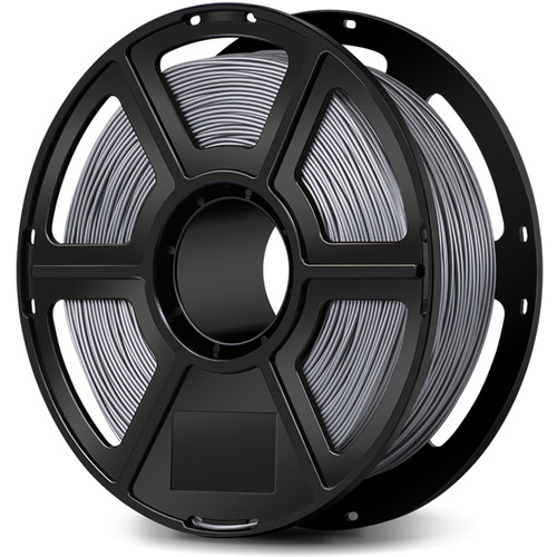 FlashForge 1.75mm Metal-Filled Filament for the Creator and Guider II Series (1kg, Aluminum)