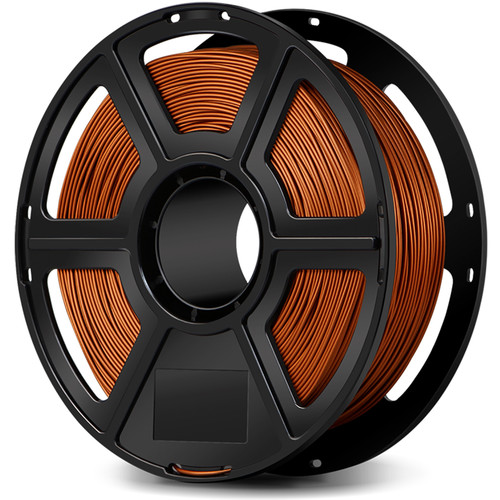 FlashForge 1.75mm Metal-Filled Filament for the Creator and Guider II Series (1kg, Copper)