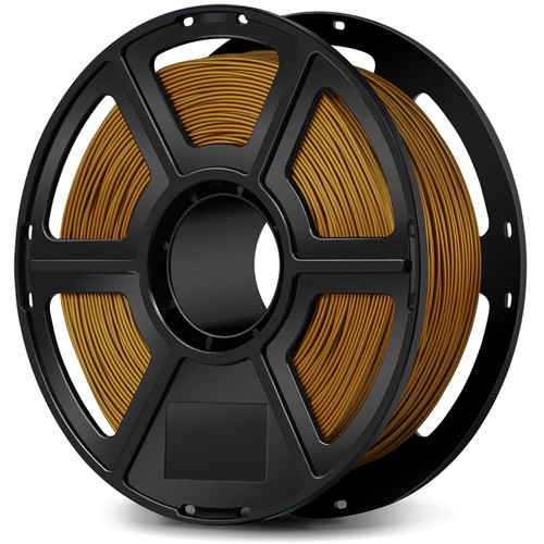 FlashForge 1.75mm PLA Filament for the Creator & Guider II Series (1kg, Gold)
