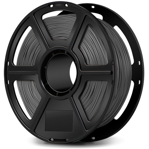FlashForge 1.75mm PLA Filament for the Creator & Guider II Series (1kg, Gray)