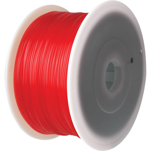 Flashforge 1.75mm Creator Series PLA Filament (2.2 lb, Red)