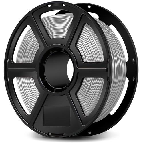 FlashForge 1.75mm PLA Filament for the Creator & Guider II Series (1kg, Silver)