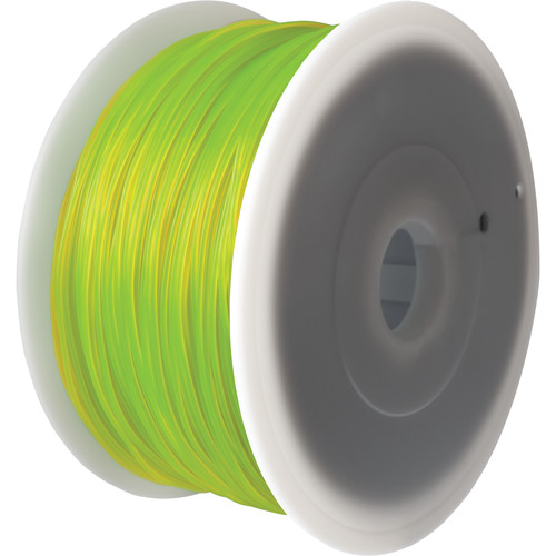 FlashForge 1.75mm Creator Series PLA Filament (2.2 lb, Yellow)