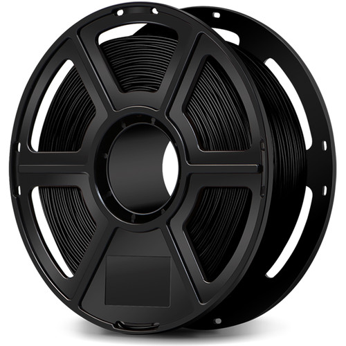 FlashForge 1.75mm Ultra-Strong Pearl PLA Filament for the Creator & Guider II Series (1kg, Black)