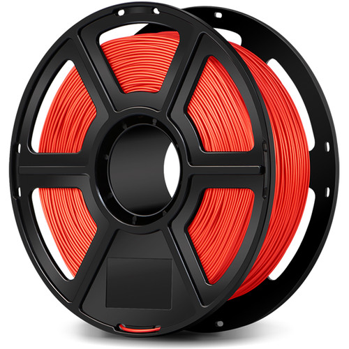 FlashForge 1.75mm Ultra-Strong Pearl PLA Filament for the Creator & Guider II Series (1kg, Red)