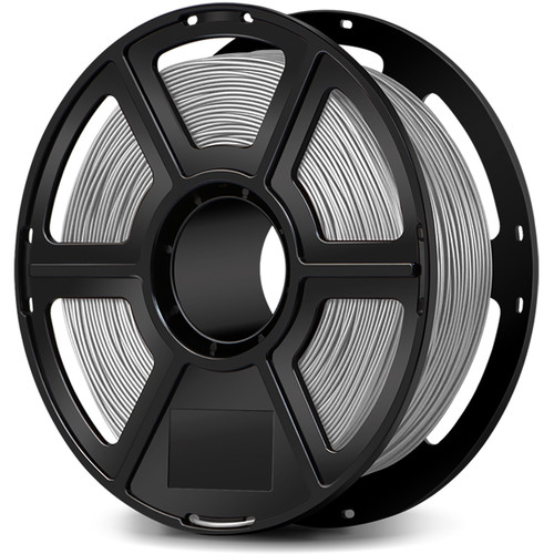 FlashForge 1.75mm Ultra-Strong Pearl PLA Filament for the Creator & Guider II Series (1kg, Silver)