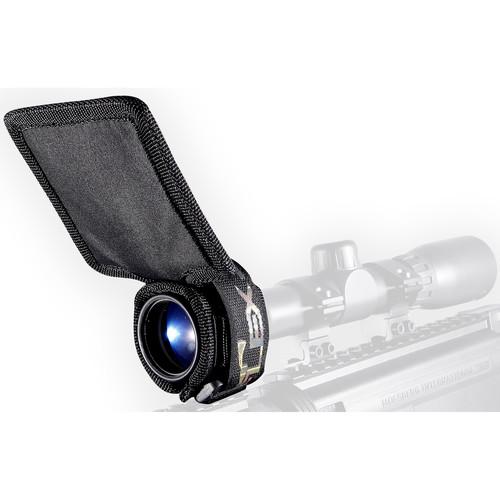 Flex Sun Shade Universal Riflescope Sun Shade (Black)
