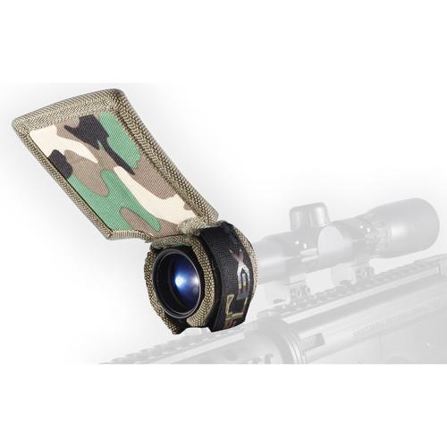Flex Sun Shade Universal Riflescope Sun Shade (Woodland Camo)