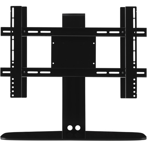 FLEXSON Adjustable TV Stand for Sonos PLAYBASE (Black)