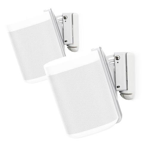 FLEXSON S1-WMX2 Wall Mounts for Sonos One (White, Pair)