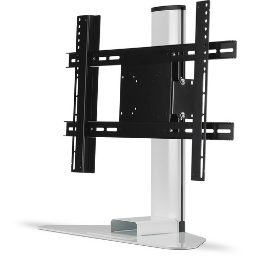 """FLEXSON Adjustable TV Stand for the Sonos Beam and TVs up to 65"""" (White)"""