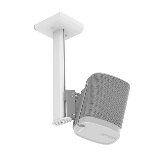 FLEXSON Ceiling Mount for Sonos PLAY:1 Speakers (White)