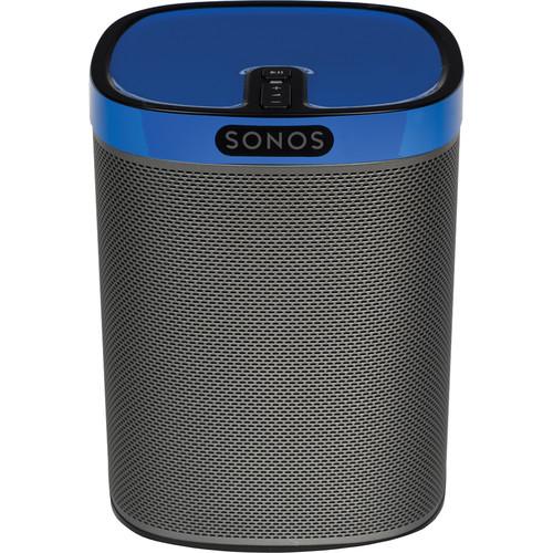 FLEXSON ColourPlay Skin for Sonos PLAY:1 (Cobalt Blue Gloss)