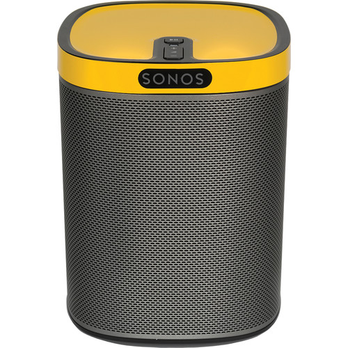FLEXSON ColourPlay Skin for Sonos PLAY:1 (Sunflower Yellow Gloss)