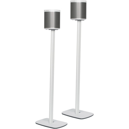 FLEXSON Floorstands for Sonos PLAY:1 (Pair, White)