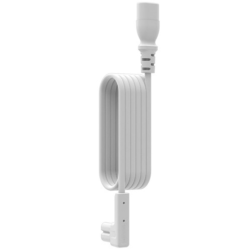 FLEXSON Right-Angle Extension Cable for Sonos PLAY:1 (White, 9.84')