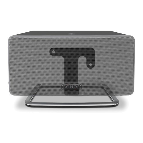 FLEXSON Desk Stand for Sonos PLAY:3 (Black)