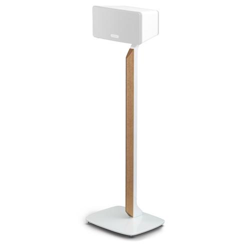 FLEXSON Premium Floor Stand for Sonos PLAY:3 (White/English Oak)