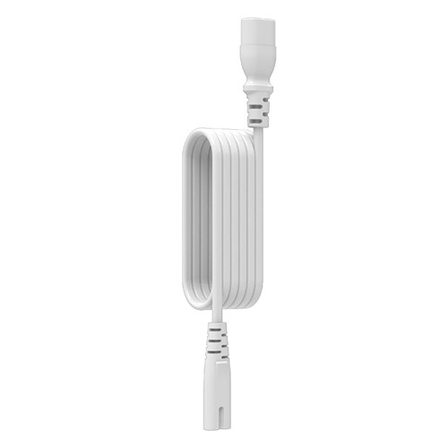 FLEXSON Straight Extension Cable for Sonos PLAY:3 & 5, PLAYBAR, and SUB (White, 9.84')