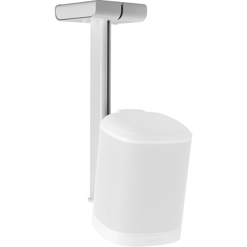 FLEXSON Ceiling Mount for the Sonos One, One SL, and PLAY:1 (White, Single)