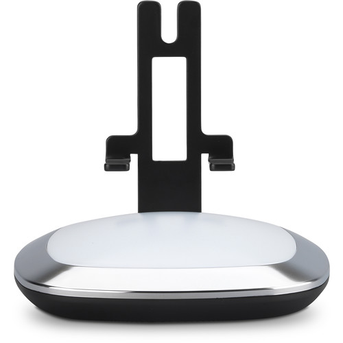 FLEXSON Illuminated Charging Stand for the Sonos One or PLAY:1 (Black, Single)