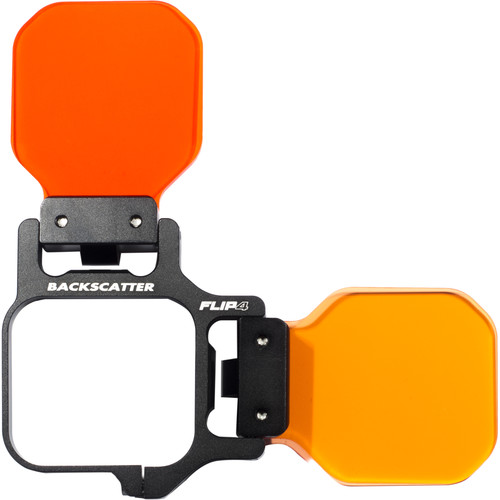 Flip Filters FLIP4 Three-Filter Kit with SHALLOW, DIVE, and DEEP Filters for GoPro