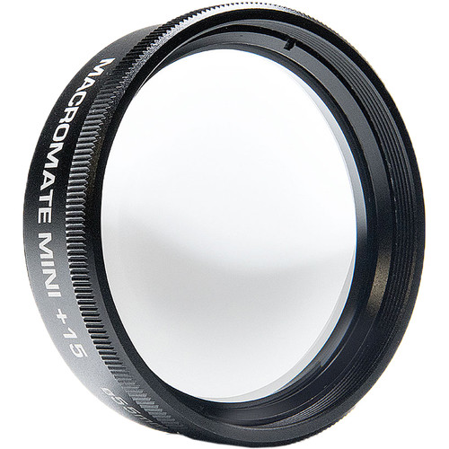 Flip Filters MacroMate Mini +15 with 55mm Filter Holder