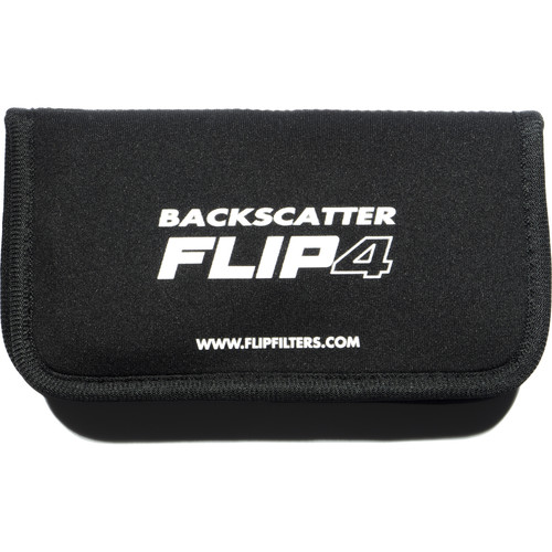 Flip Filters Neoprene Protective Wallet for Flip5, FLIP4, and FLIP3.1 Filters