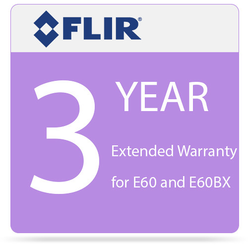 FLIR 3-Year Extended Warranty for E60 and E60bx Camera