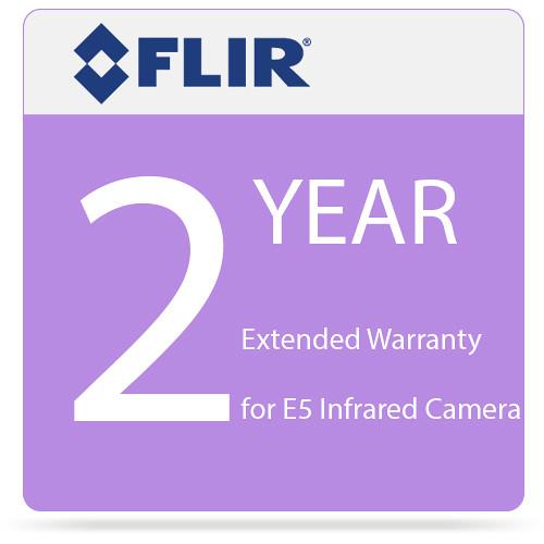 FLIR 2 Year Extended Warranty for E5 Infrared Camera