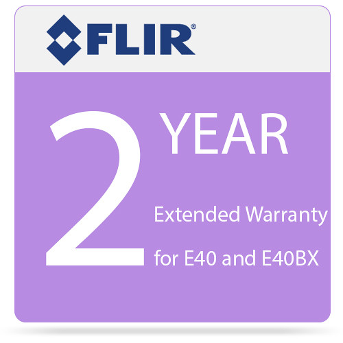 FLIR 2-Year Extended Warranty for E40 and E40bx Camera