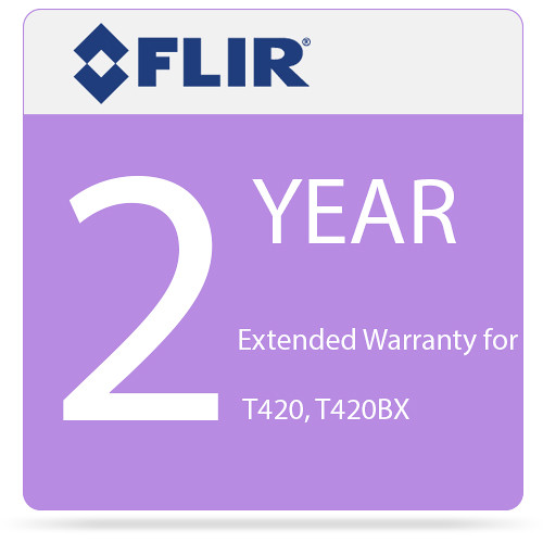 FLIR 2-Year Extended Warranty for T420 and T420bx IR Cameras