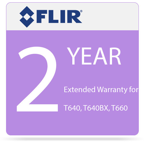 FLIR 2-Year Extended Warranty for T640 and T640bx IR Cameras