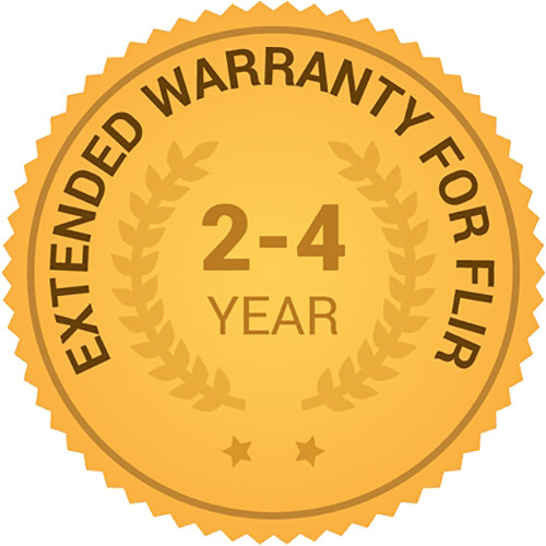 FLIR 2, 3, & 4-Year Extended Warranty for T420 and T420bx IR Cameras
