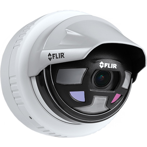 FLIR Saros DH-390 Outdoor Thermal & 1080p Optical Network Dome Camera
