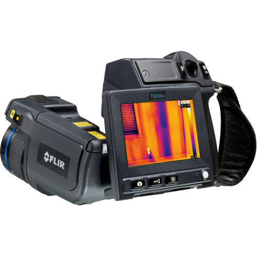 FLIR T600bx Thermal Camera with Wi-Fi, 45° Lens, and Extended Calibration Certificate